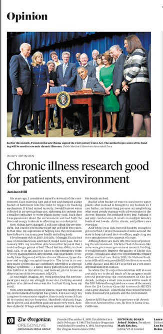Researching Chronic Illness is Good for the Environment