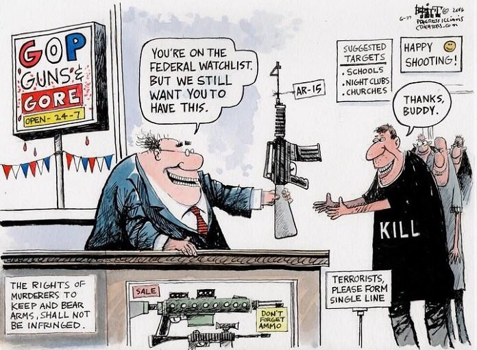 Nobody is Going to Take Your Guns Away, but Mass Shootings Have toStop